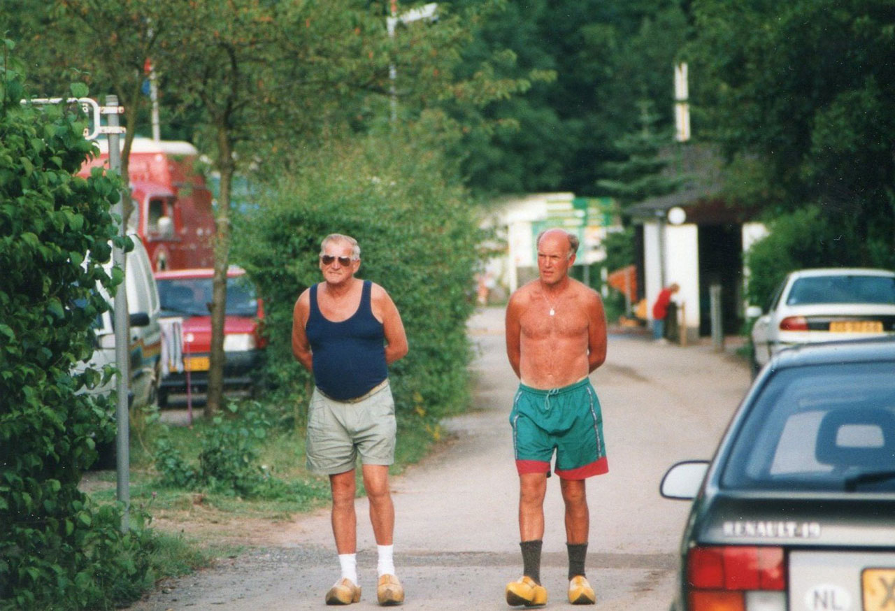 Dutchmen in clogs, 1997