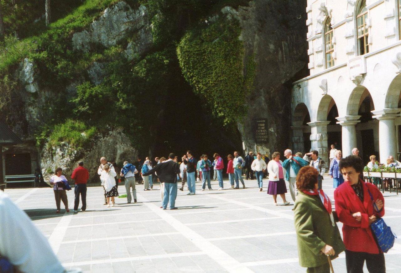 Postojna Cave, Slovenia, 1991