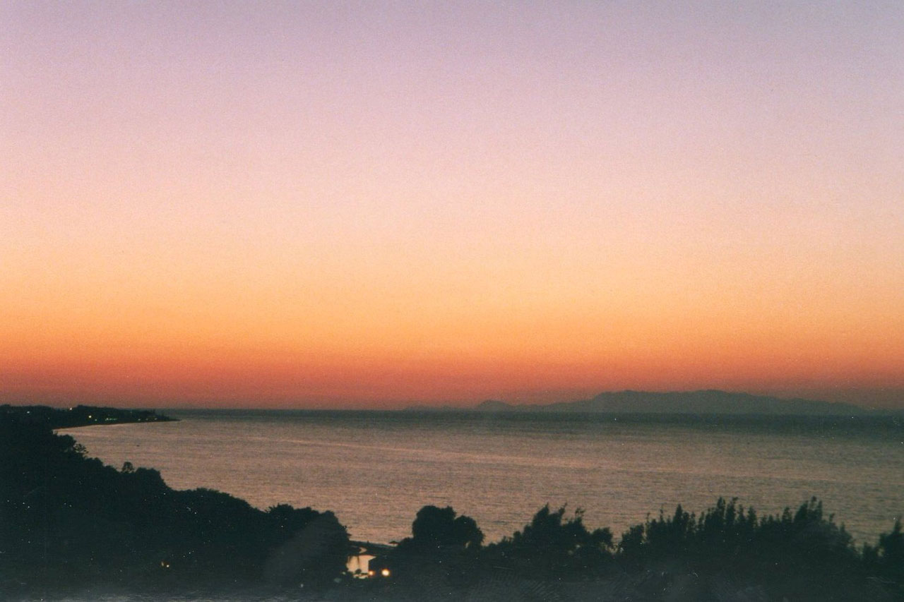 Sunset over Turkey, 1998