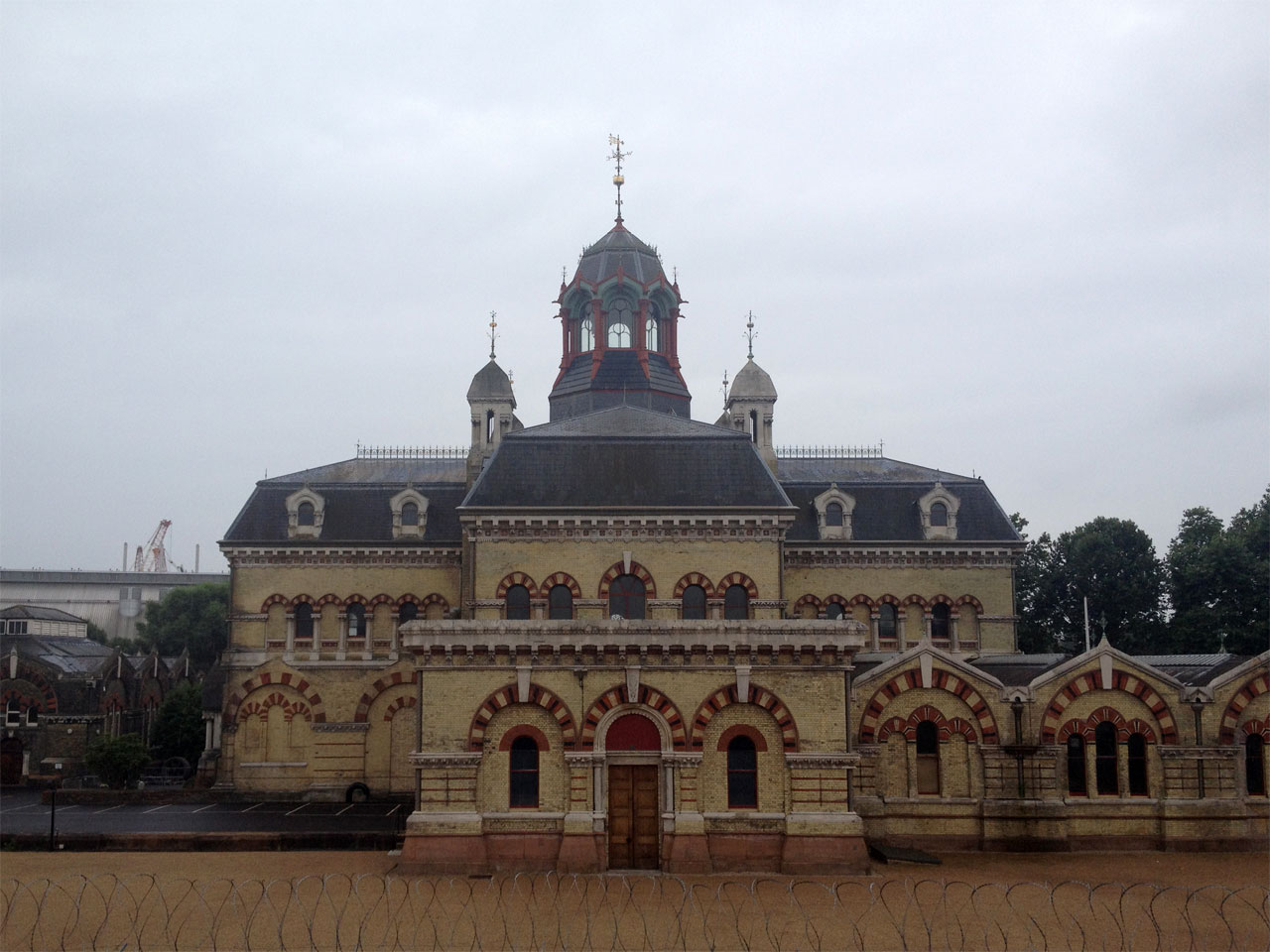 Abbey Mills pumping station, Stratford, London