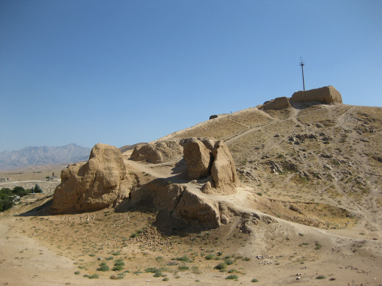 Alexander the Great's fortress in Nurata, Uzbekistan