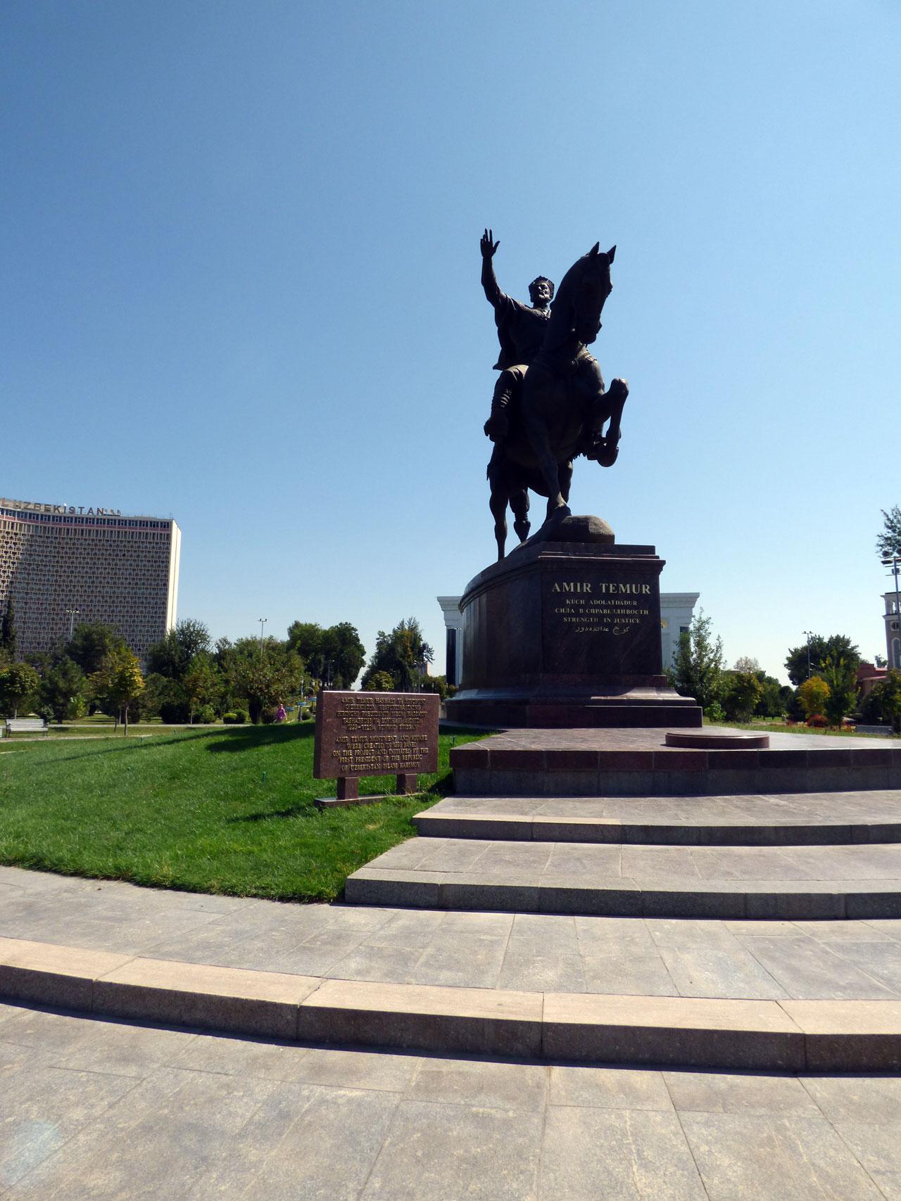 Amir Timur maydoni, Tashkent