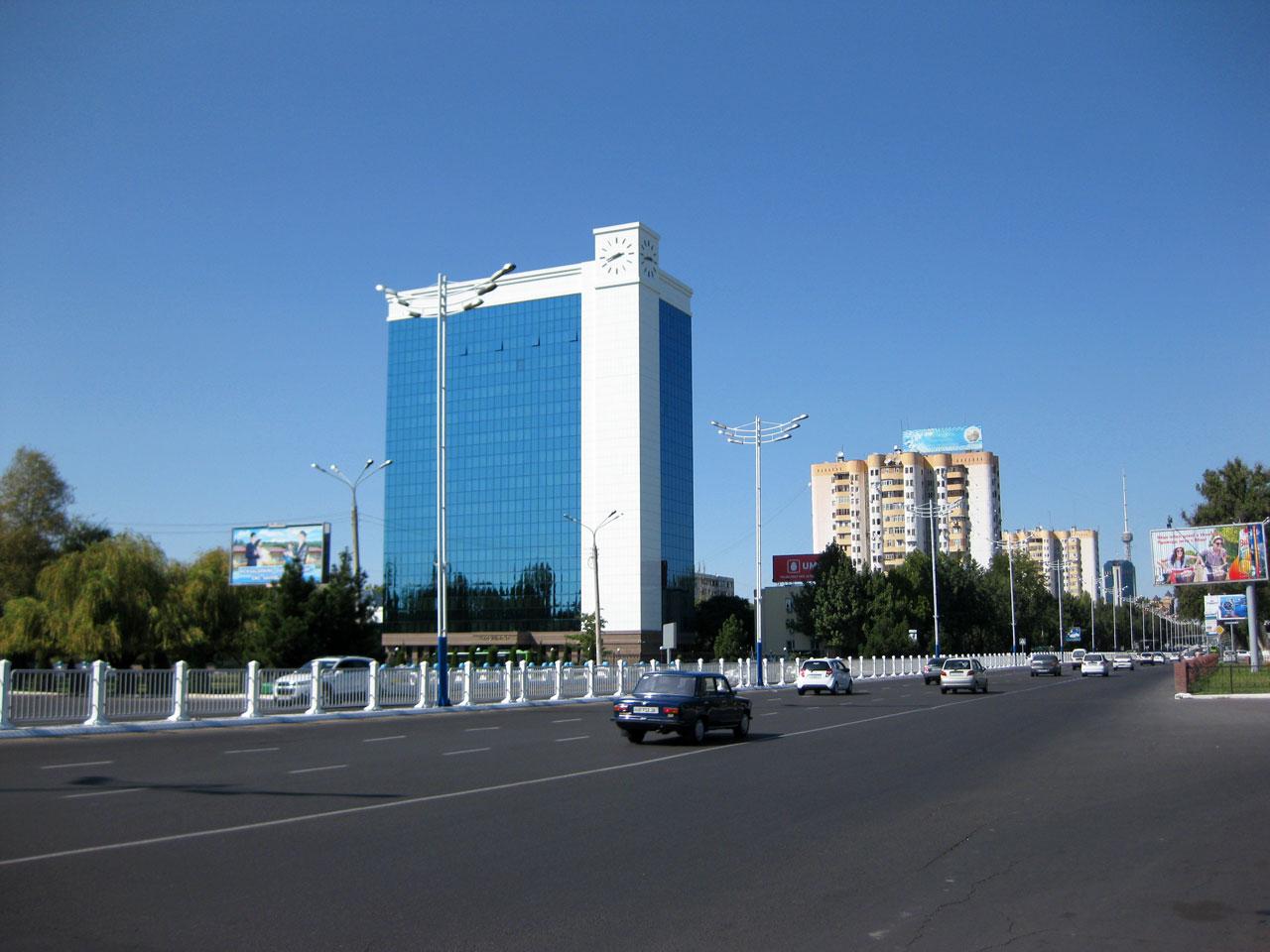Amir Timur street, Tashkent