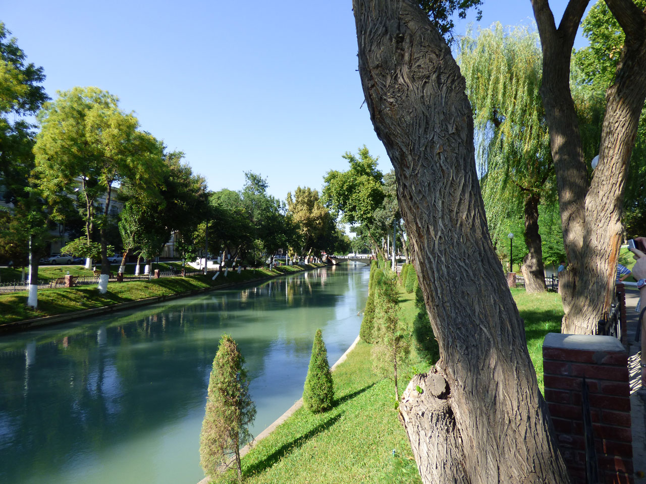 Anhor Canal, Tashkent