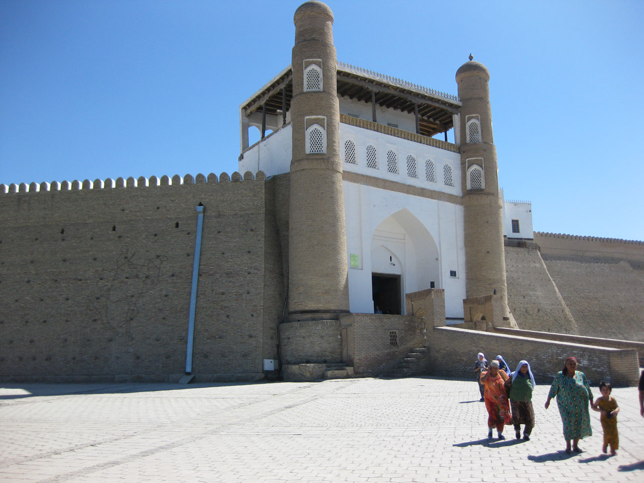 The Ark fortress, Bukhara