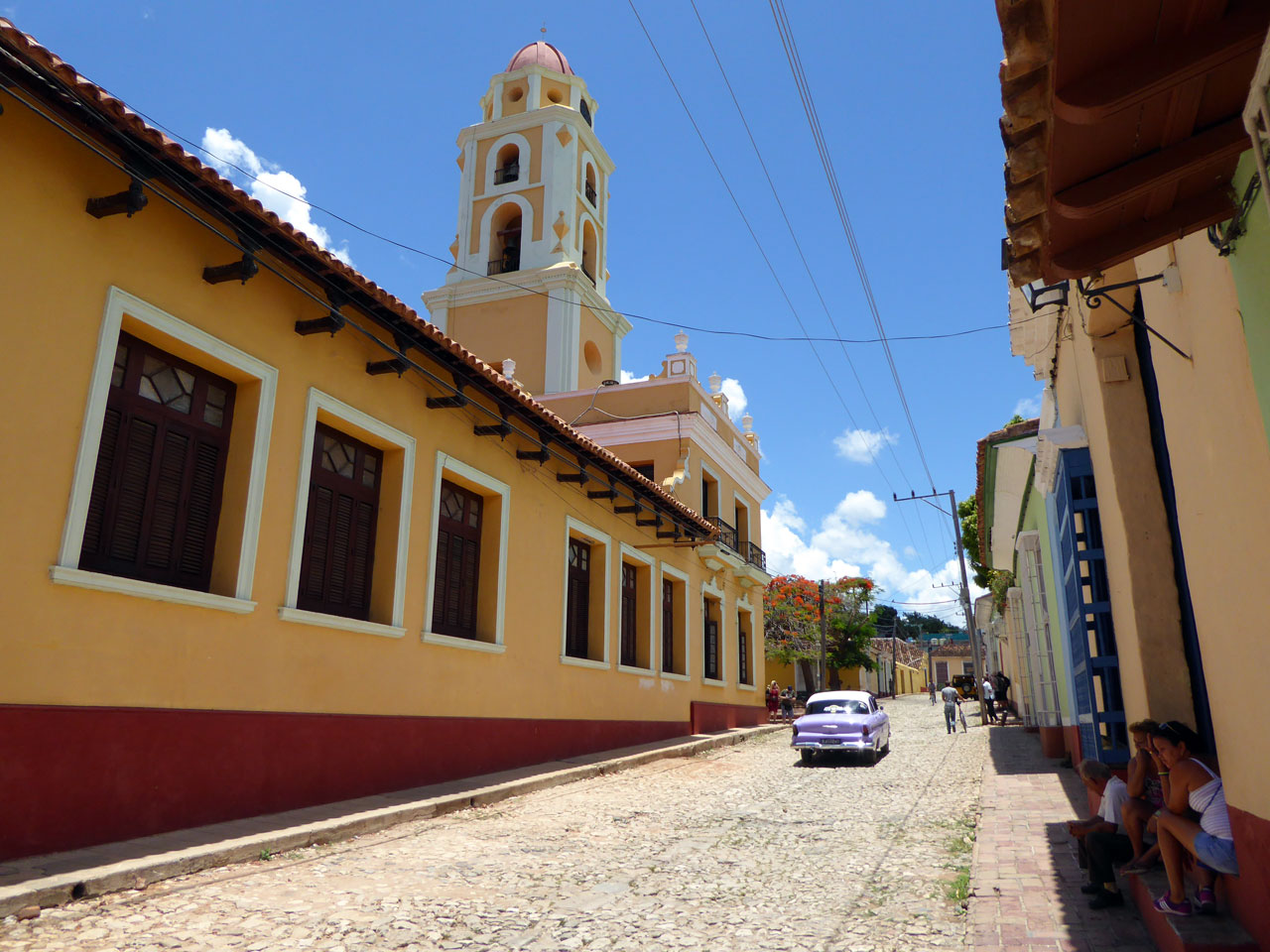 Old bell tower in Trinidad, Cuba
