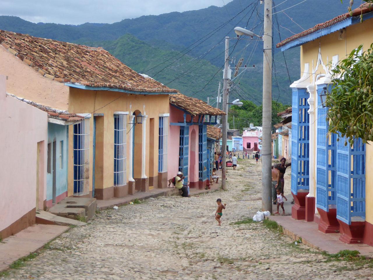 Calle Samuel Feijó, Trinidad, Cuba