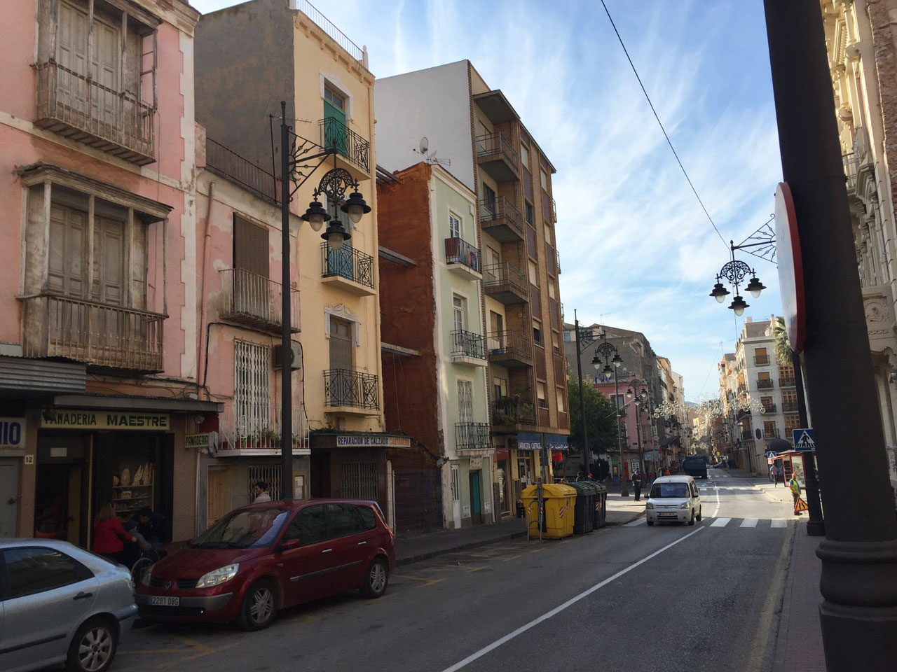 Calle San Diego, Cartagena, Spain