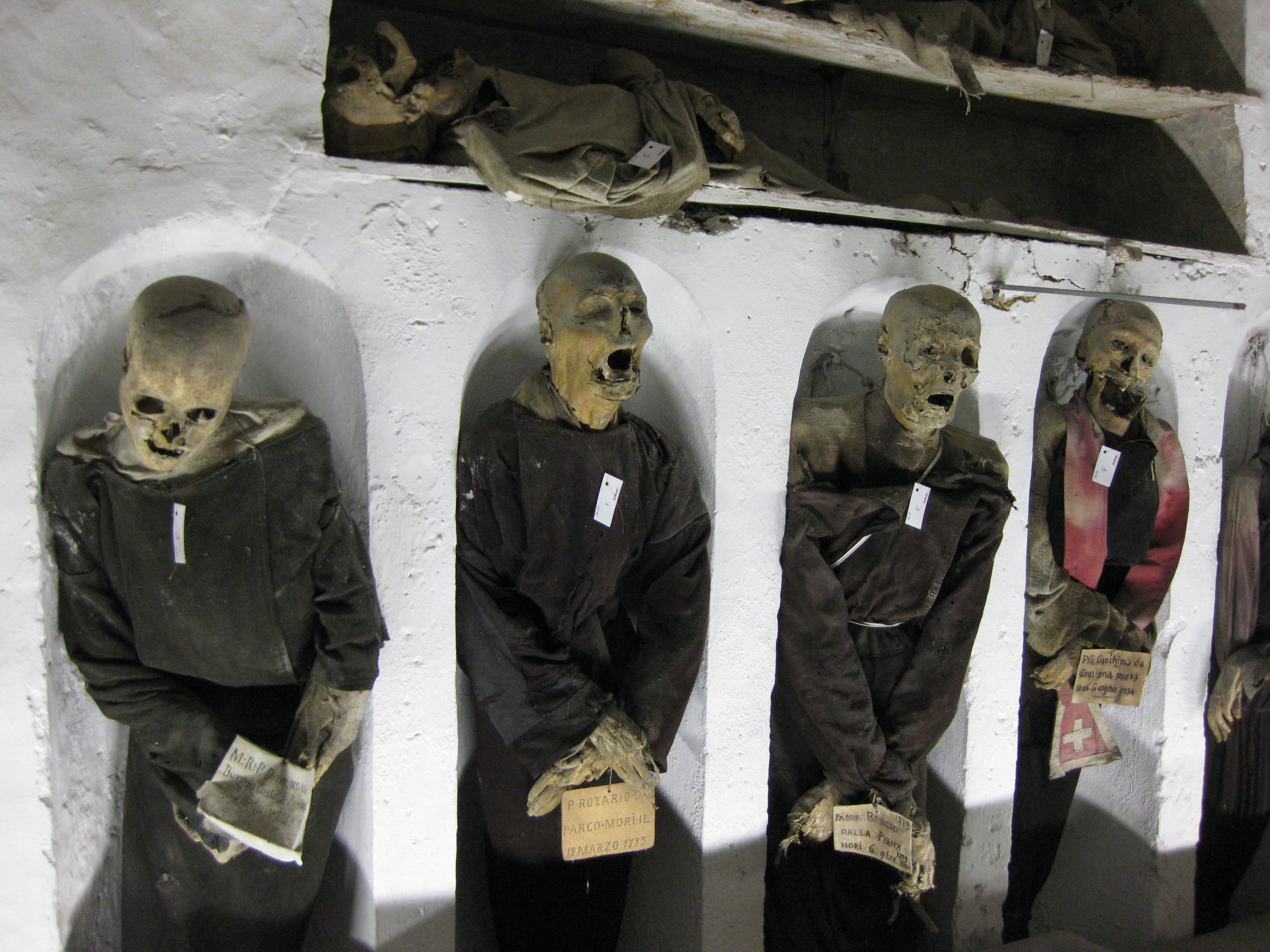 Catacombe dei Cappucini, Palermo, Sicily