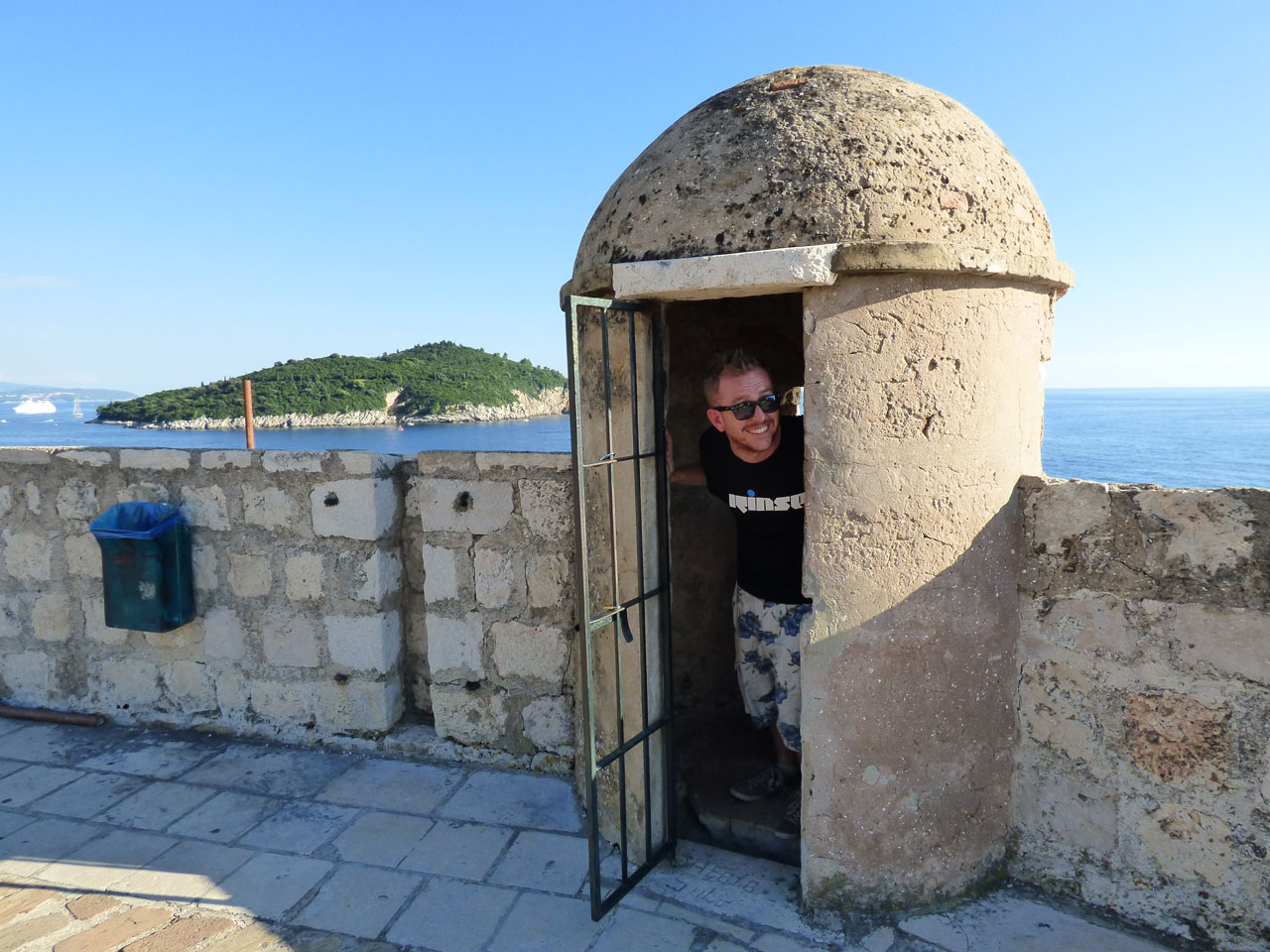 Exploring the walls, Dubrovnik