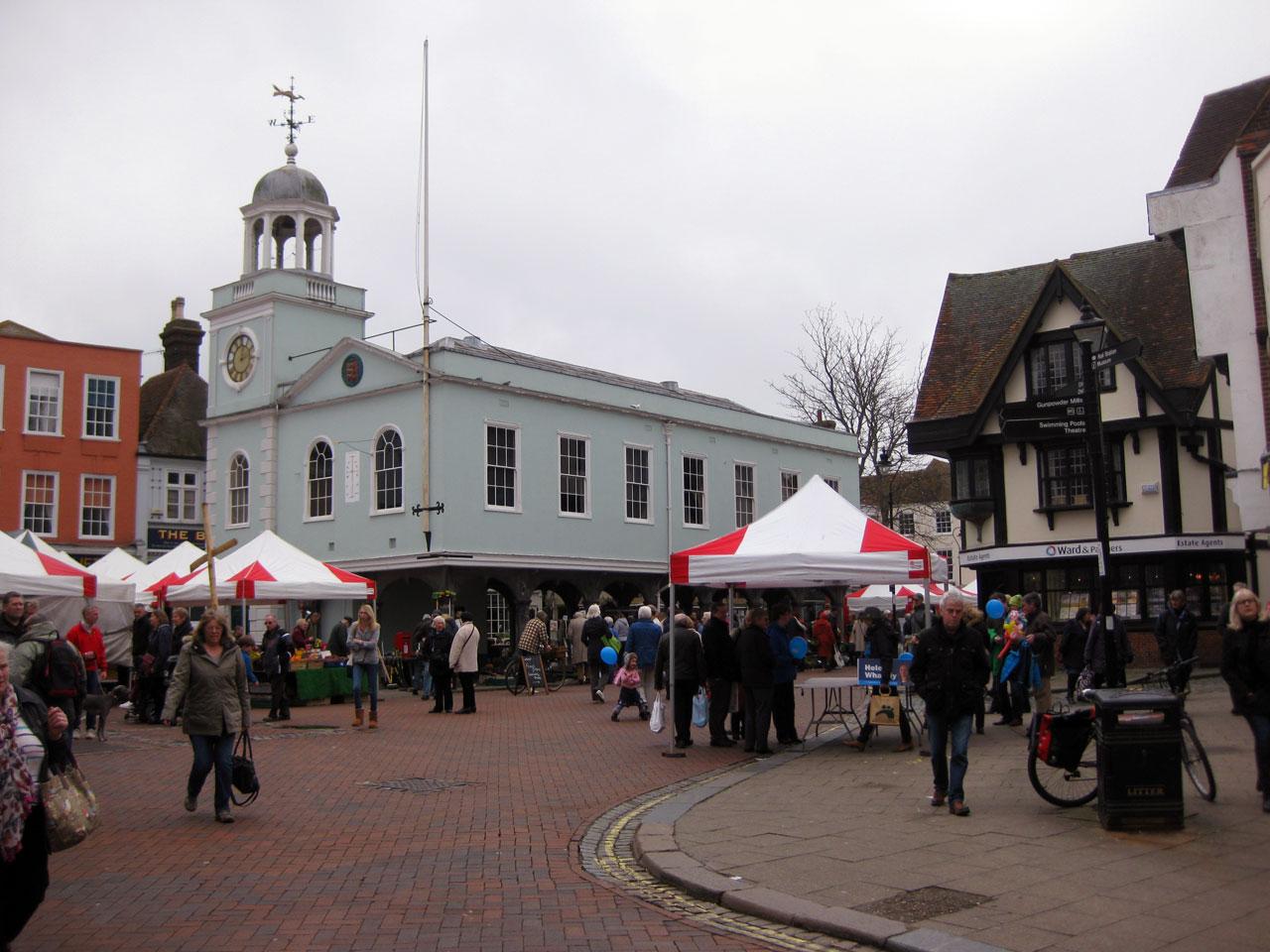 Faversham market, Kent