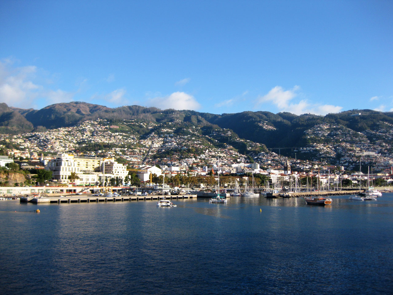 Funchal as seen from the bay