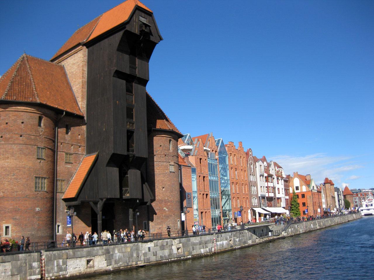 The Gdańsk Crane