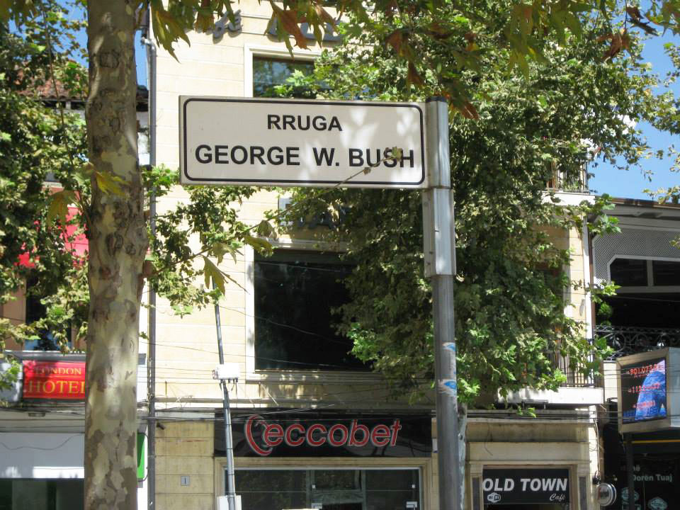 George W. Bush Street, Tirana, Albania