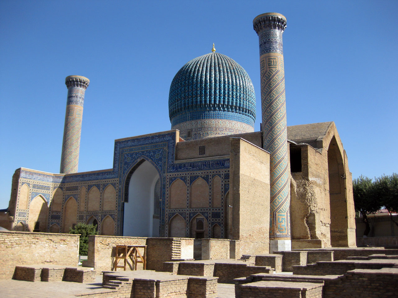 Gur-e-Amir mausoleum, Samarkand