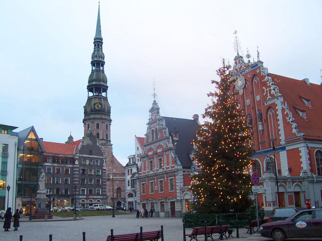 Ratslaukums square, Riga, Latvia