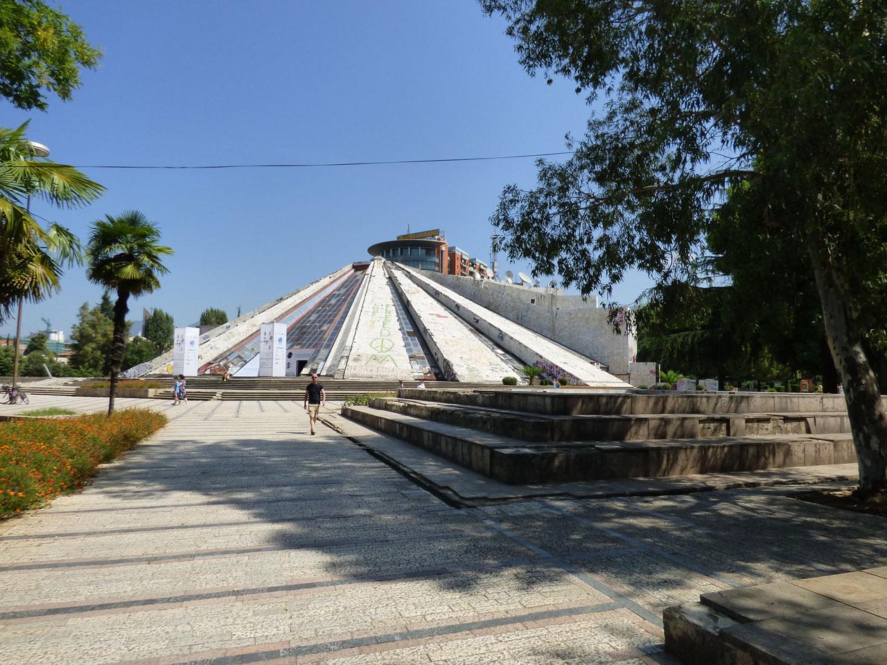 The Pyramid, Tirana, Albania
