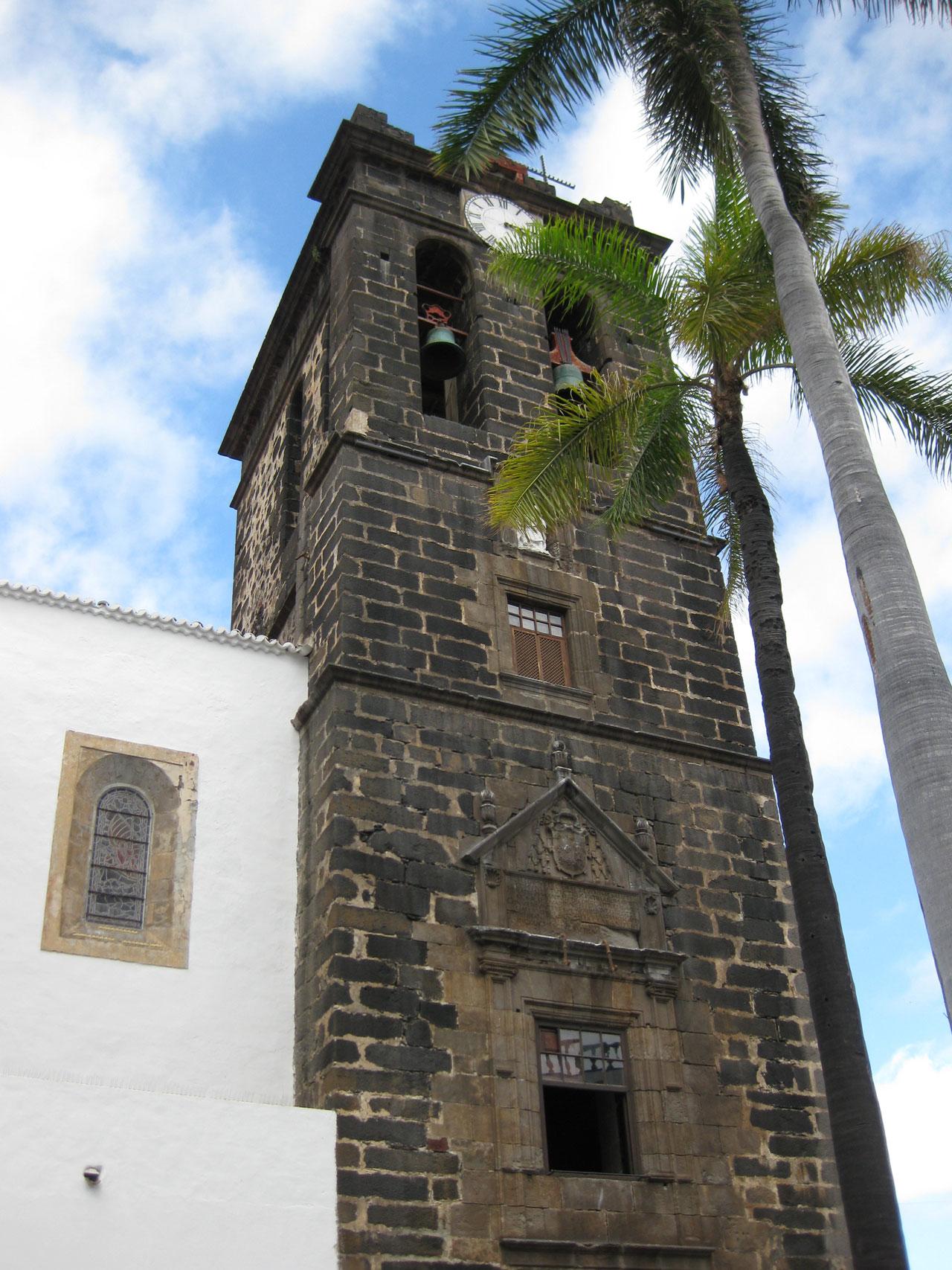 Iglesia Colegial del Divino Salvador, Plaza de España, Santa Cruz de la Palma