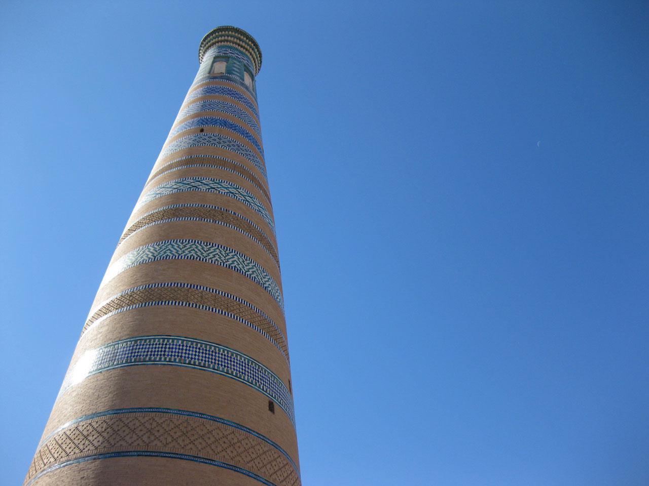 Islom-Hoja minaret, Khiva