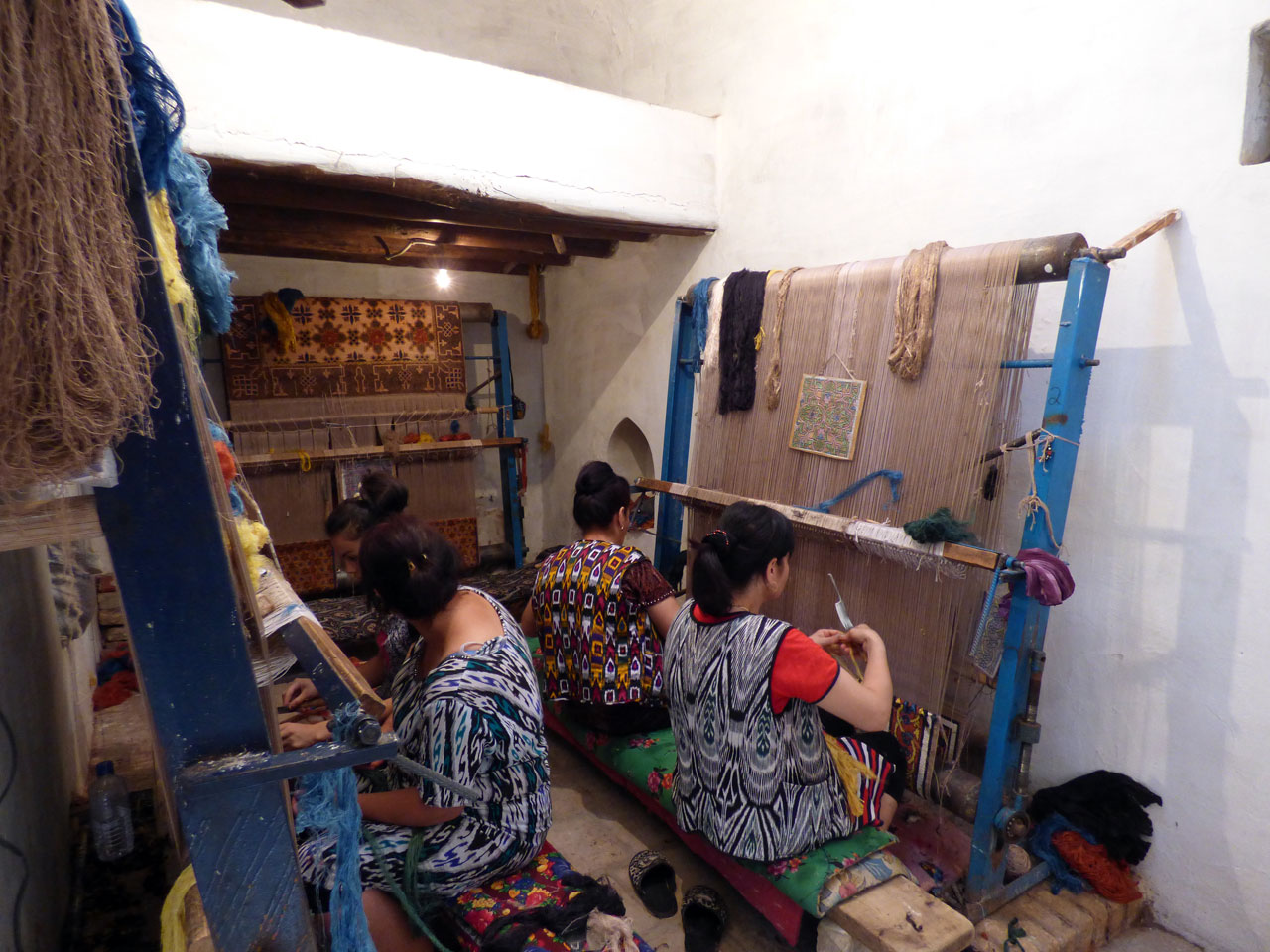 Khiva Silk Carpet Workshop
