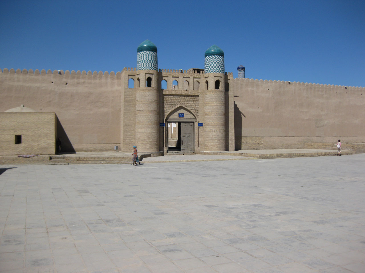 The Kuhna Ark, Khiva