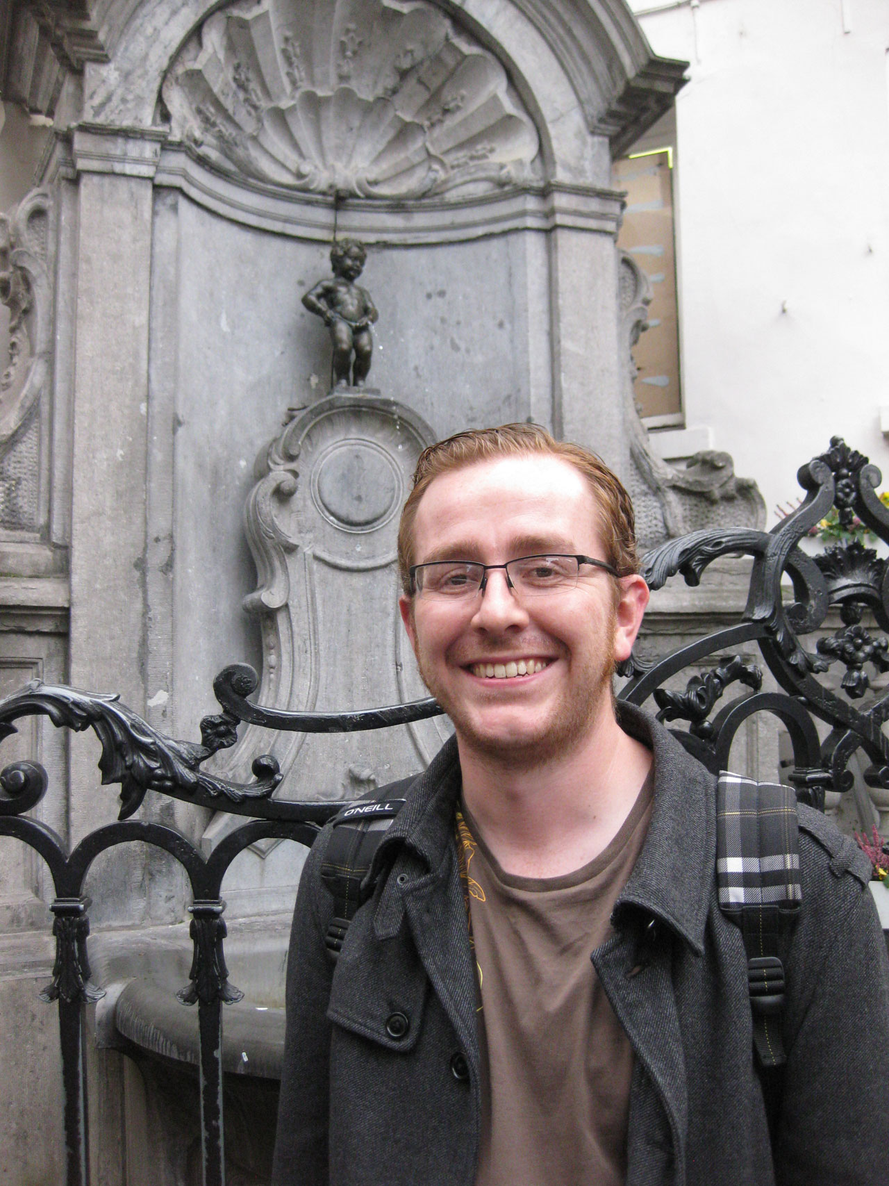 The Manneken Pis, Brussels, Belgium