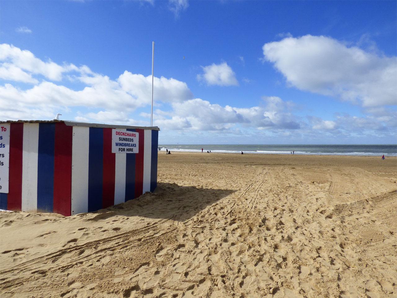The beach at Margate, Kent
