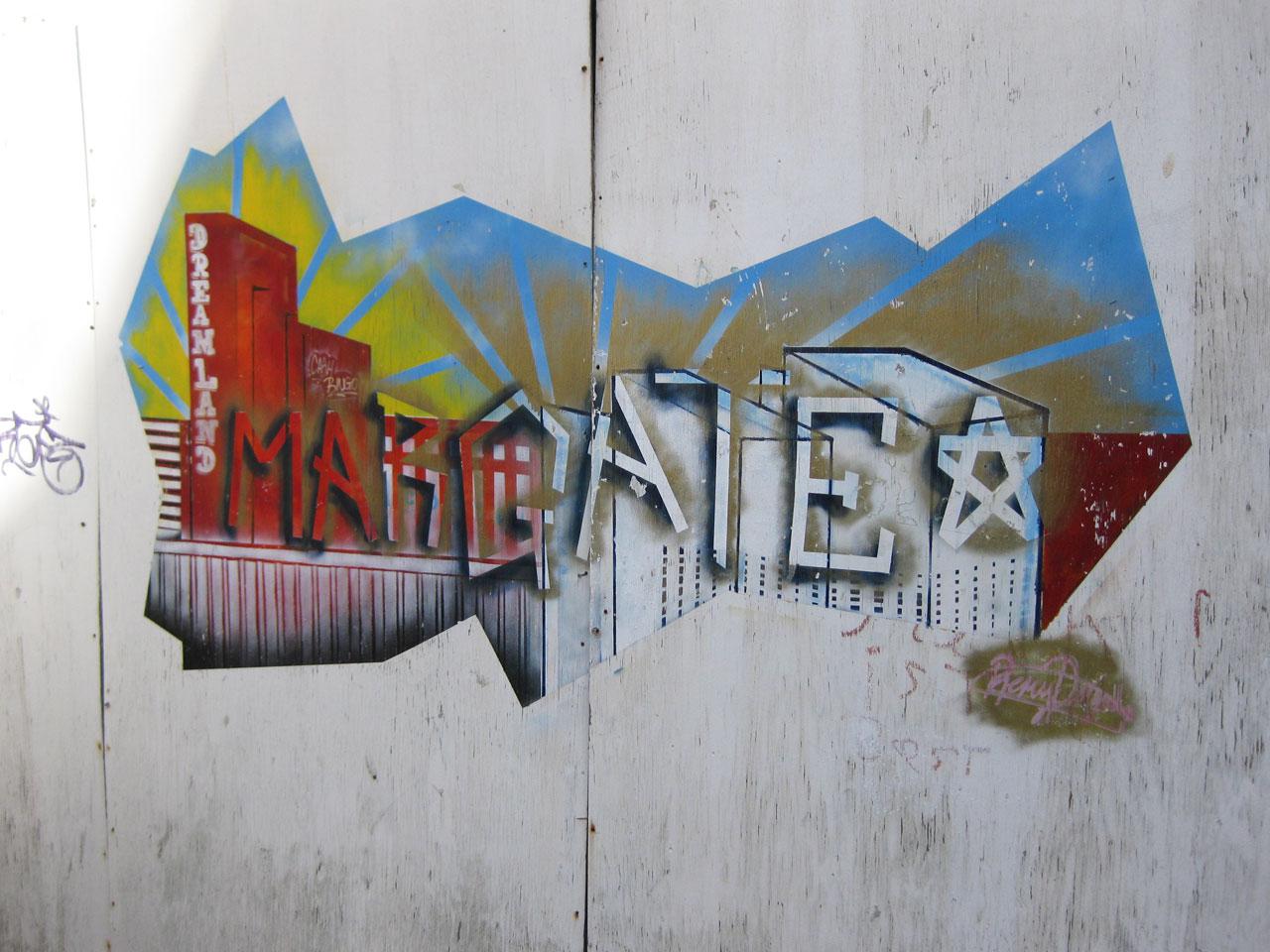 Graffiti in Margate, Kent