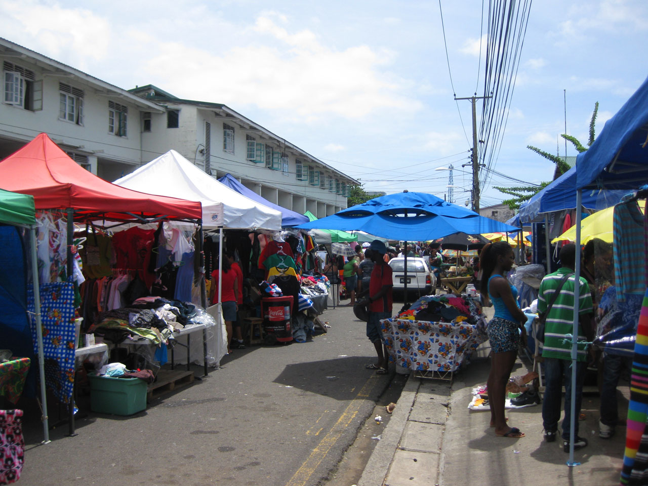 Market in Castries, Saint Lucia