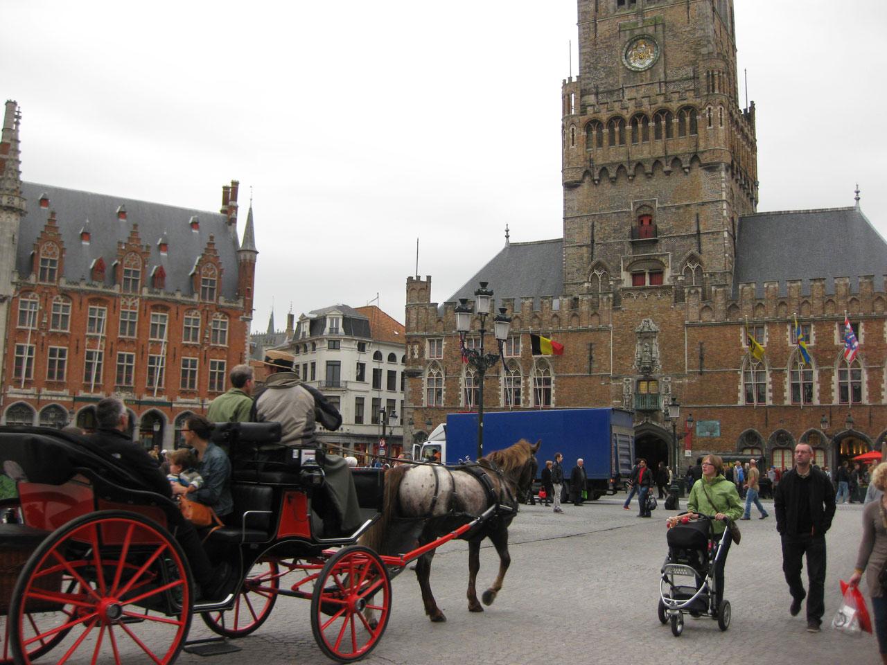 Markt square, Bruges, Belgium