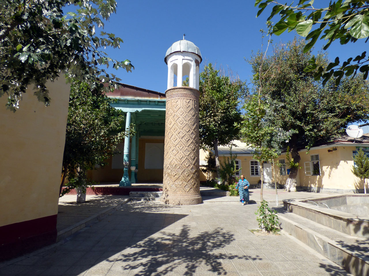 Mubarak mosque, Samarkand Old Town