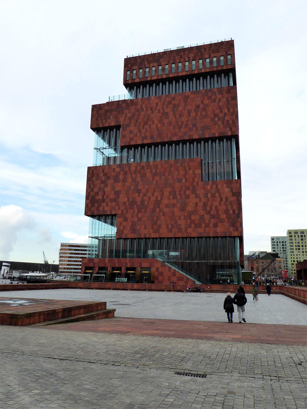 The Museum aan de Stroom, Antwerp, Belgium
