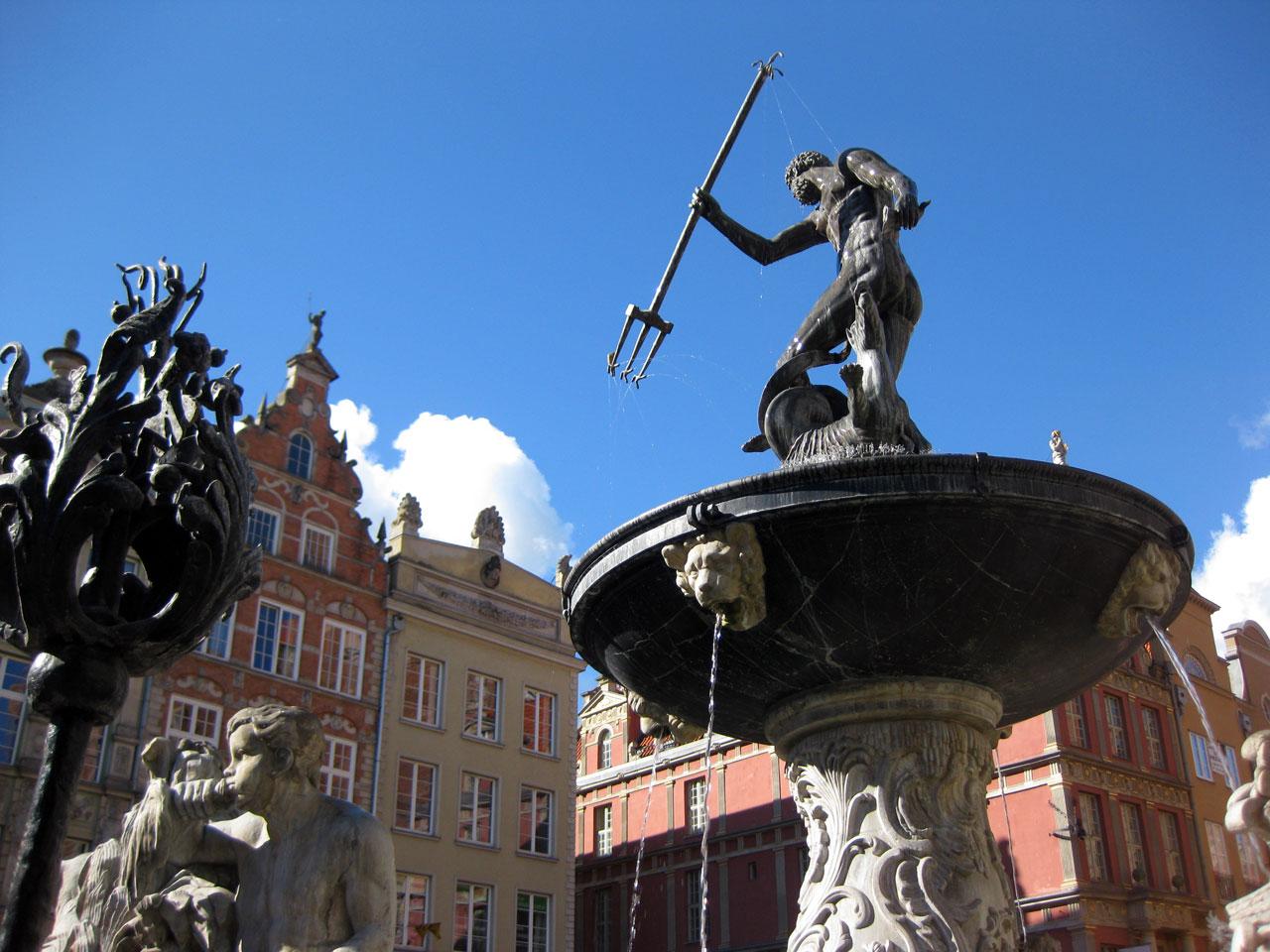 Neptune's Fountain, Gdańsk