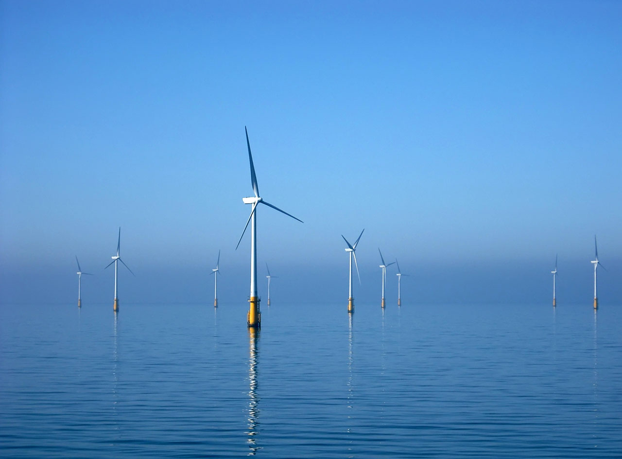 Offshore wind turbines, Barrow-in-Furness