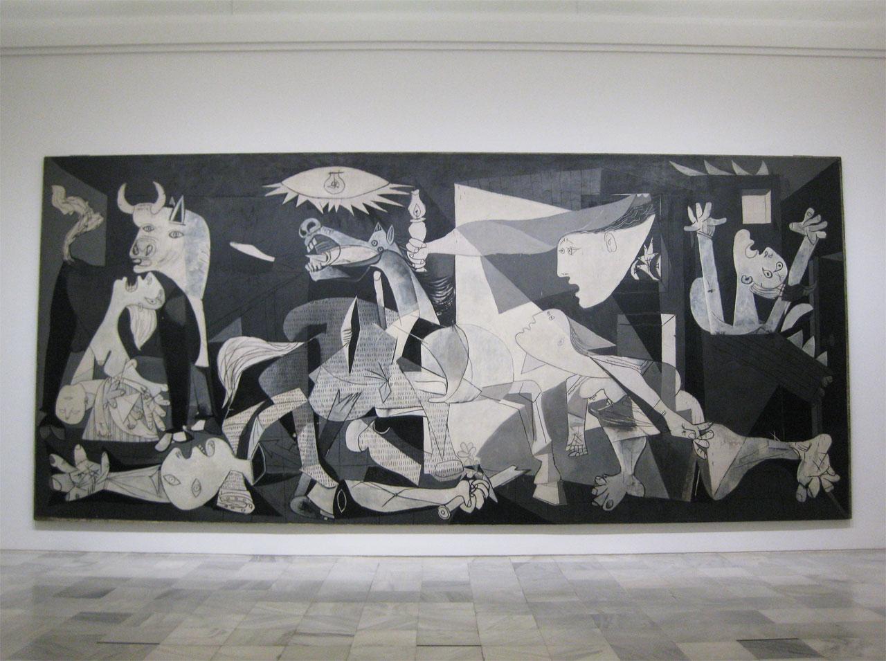 Picasso's 'Guernica', Museo Reina Sofia, Madrid