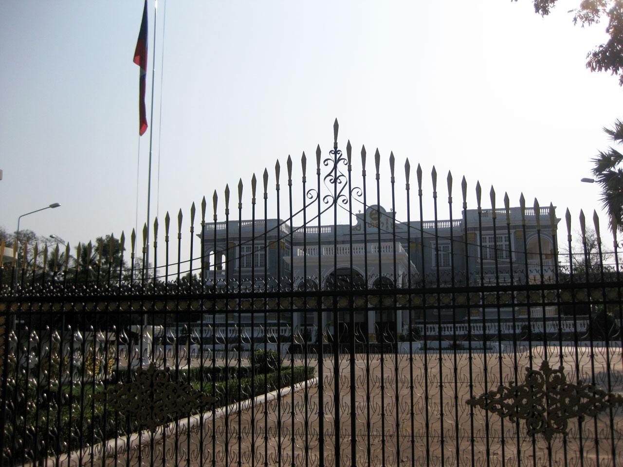 The Presidential Palace, Vientiane, Laos