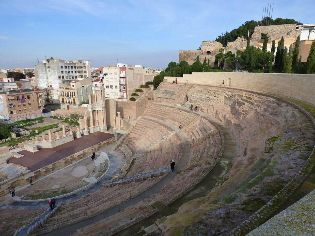 Roman Theatre, Cartagena, Spain