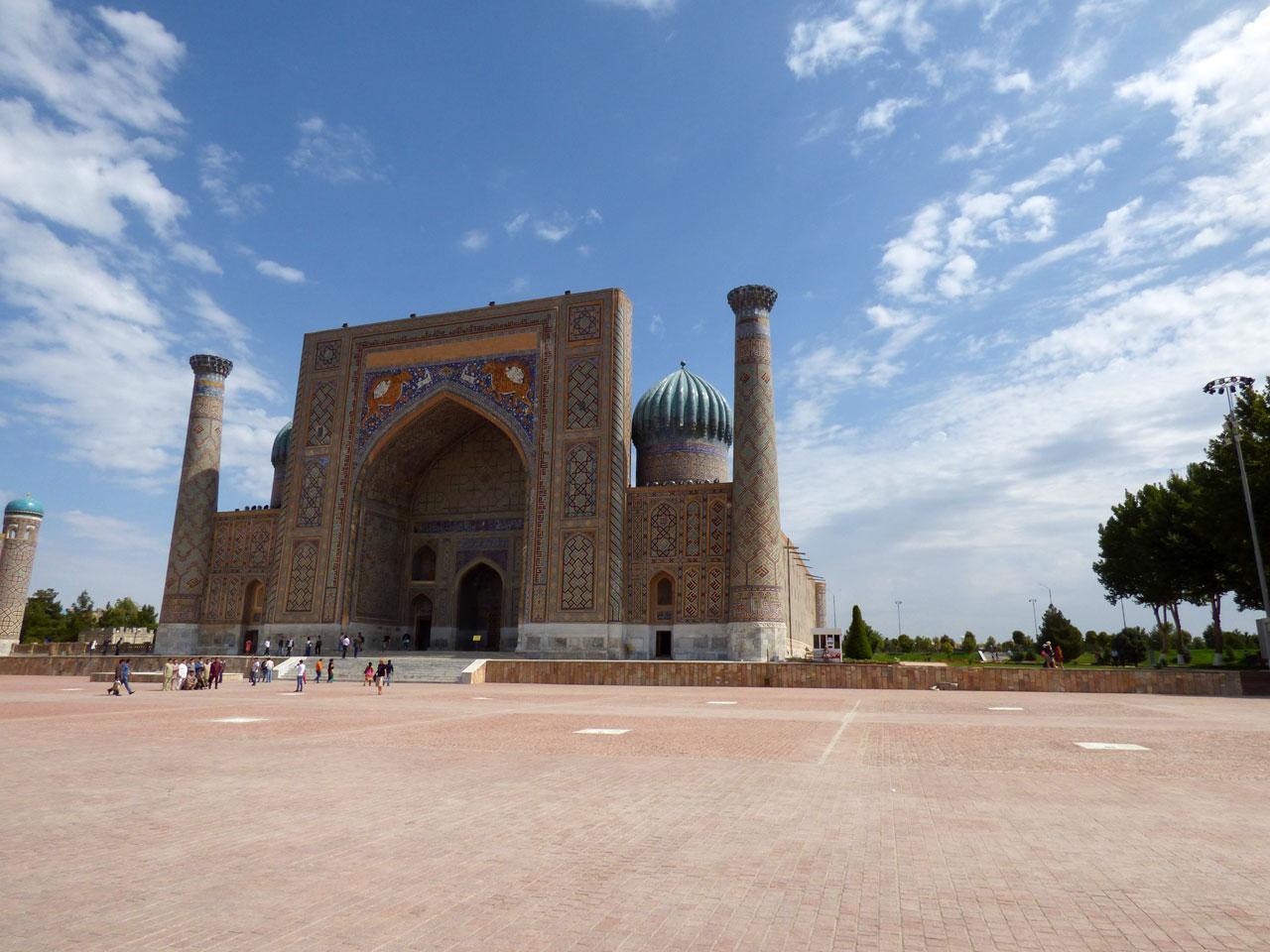 Sher Dor madrassa, Samarkand