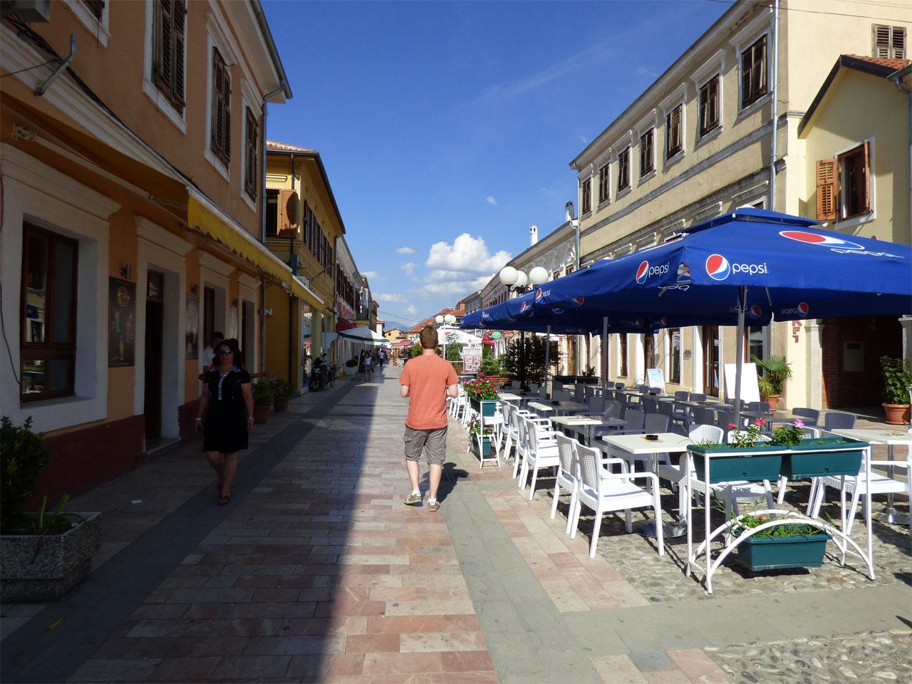 Exploring the streets of Shkodër, Albania