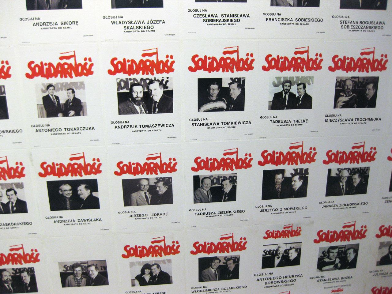 Solidarność election posters