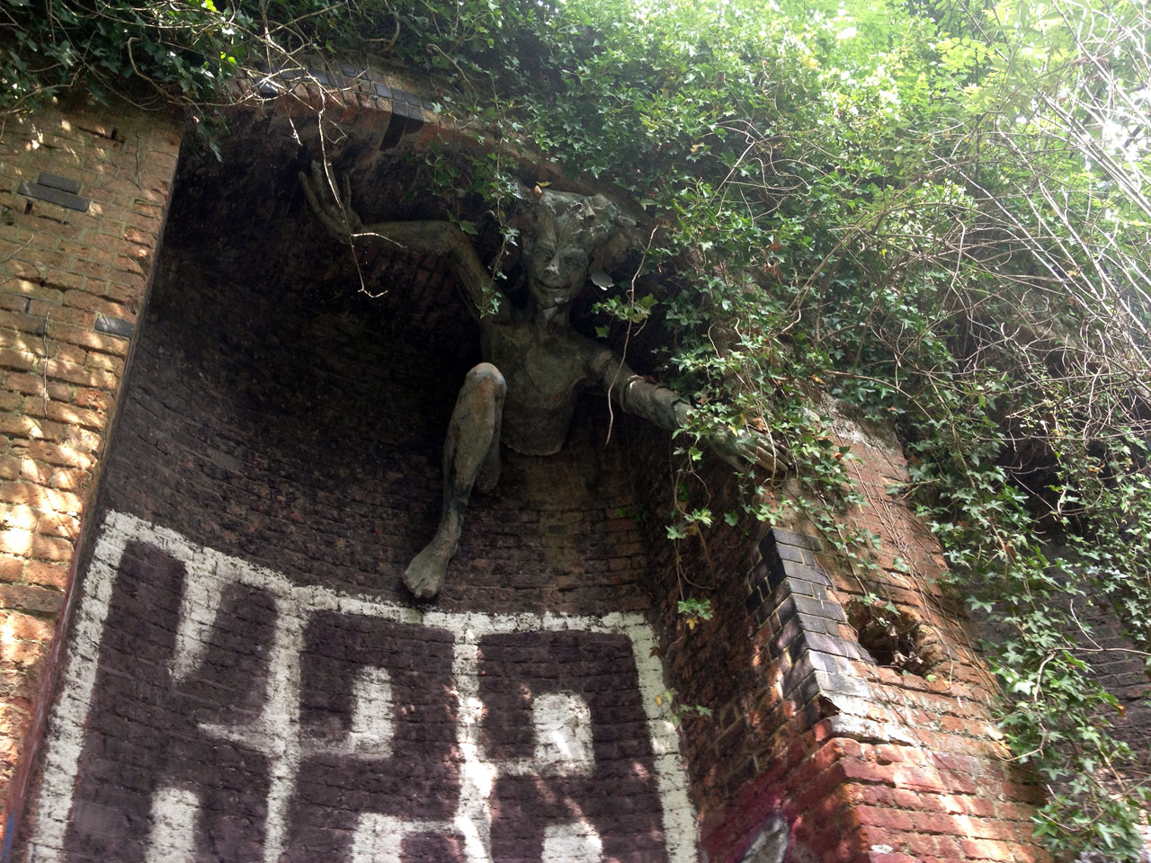 The spriggan, Parkland Walk, London