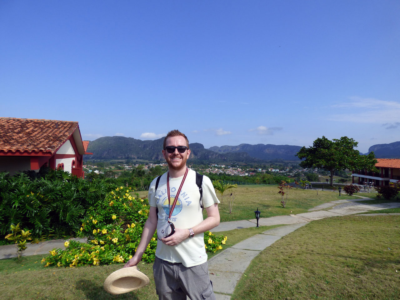 Me at La Ermita, Viñales, Cuba