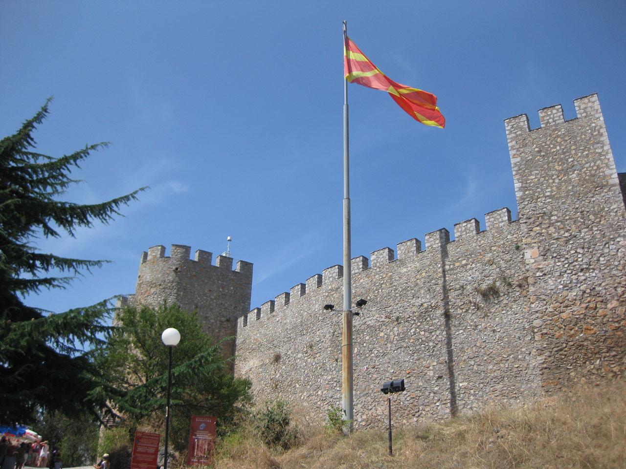 Tsar Samuil's fortress, Ohrid, Macedonia