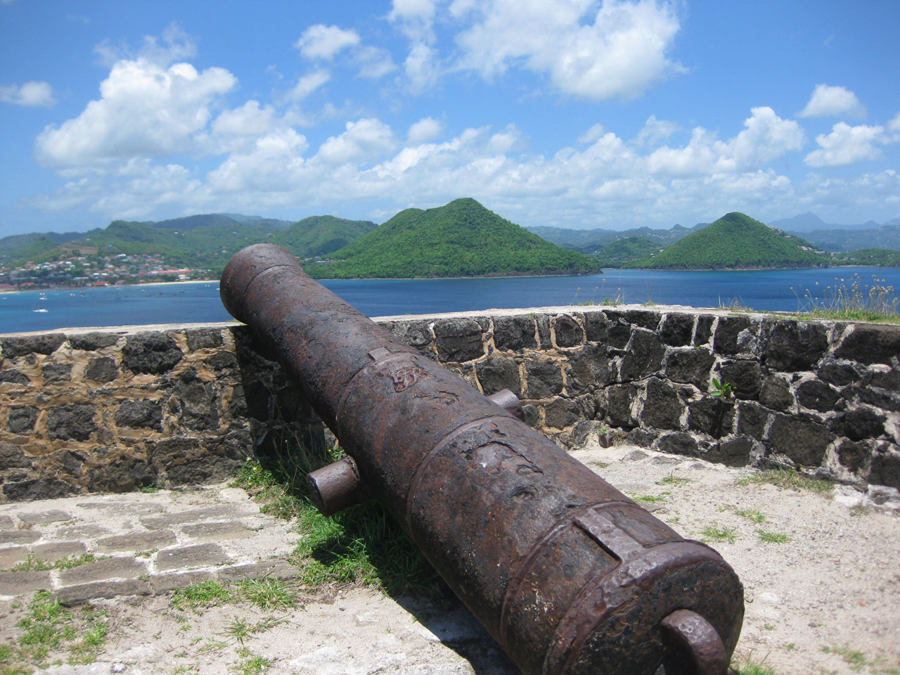 The view from Fort Rodney, Pigeon Island, Saint Lucia