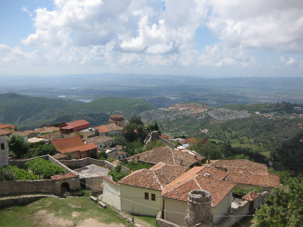 The view from Krujë