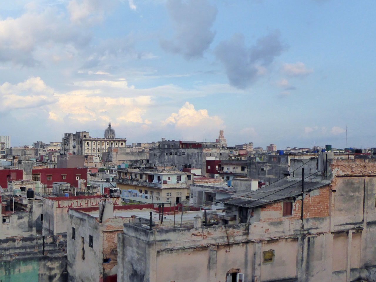 The view from La Guarida, Havana
