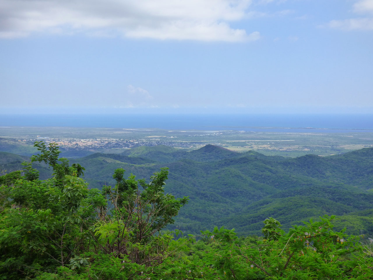 View from Topes de Collantes, Cuba