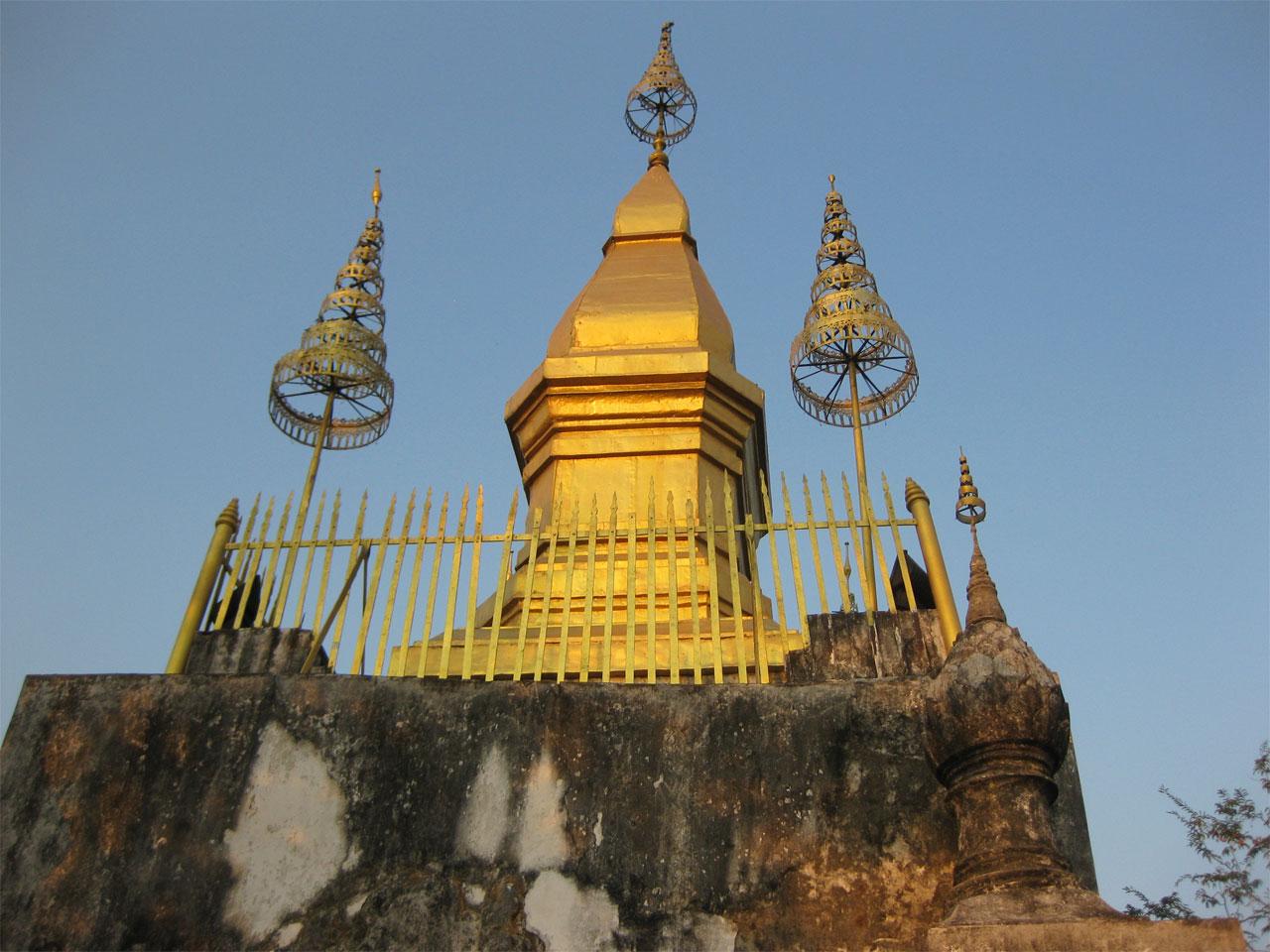 Wat Chom Si, Luang Prabang, Laos