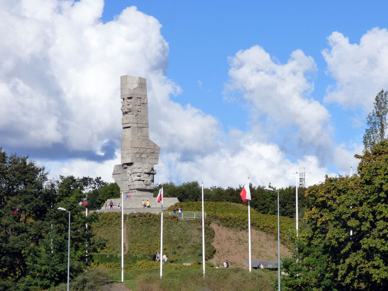 World War II Memorial, Westerplatte, Gdańsk