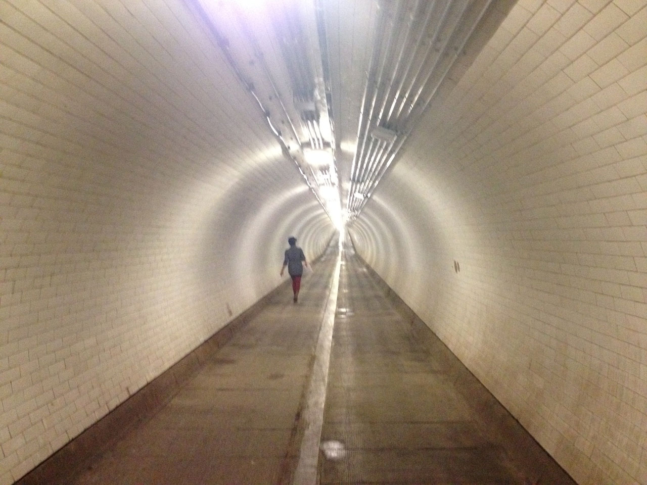 Woolwich foot tunnel, London